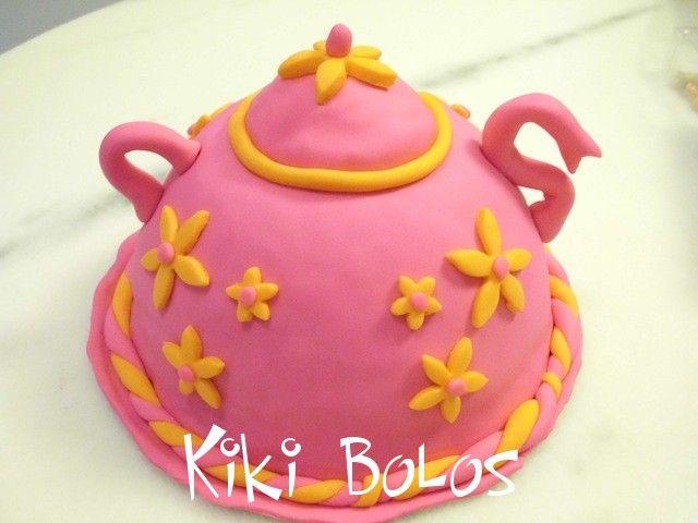 teapot cakes | Ideal para chás, batizados e encontros de meninas chiques!!!
