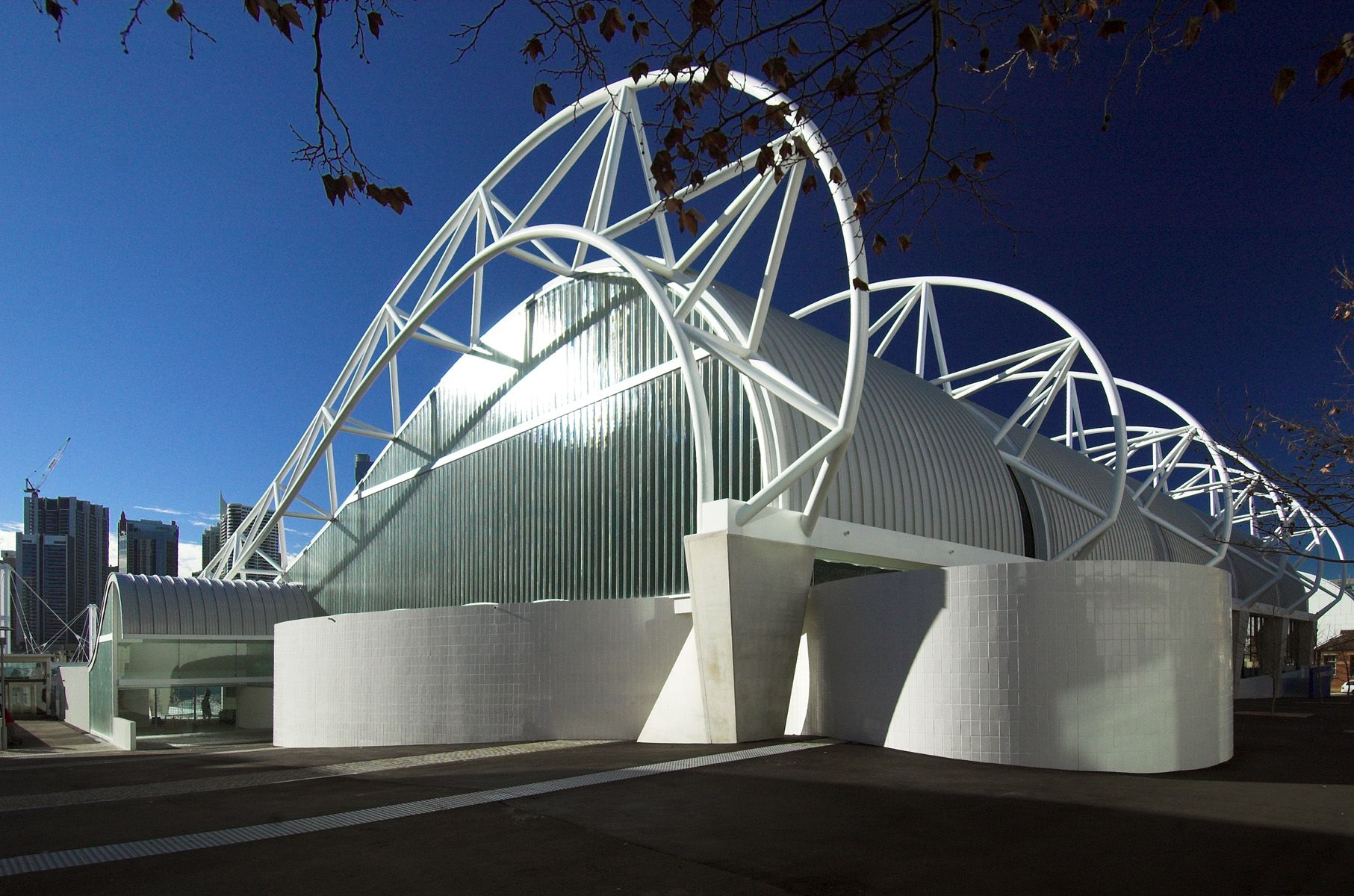 Harry Seidler Amp Associates Ian Thorpe Aquatic Centre 芳苑