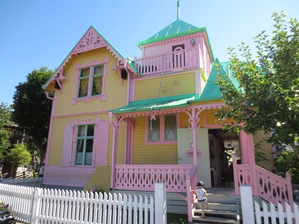 Pippi Longstocking's house, Villa Villekulla! Pippi