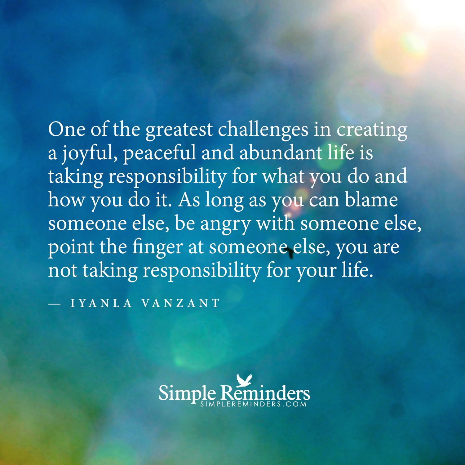 One of the greatest challenges in creating a joyful