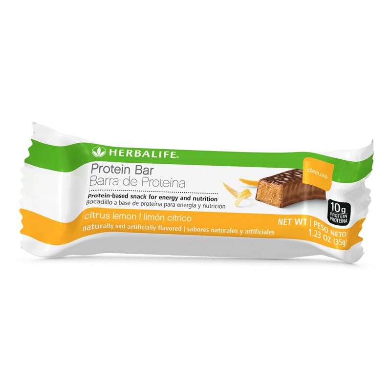 Independent Herbalife Distributor Protein Bar Deluxe Citrus Lemon 14 Bars Per Box Herbalife Protein Bars Citrus