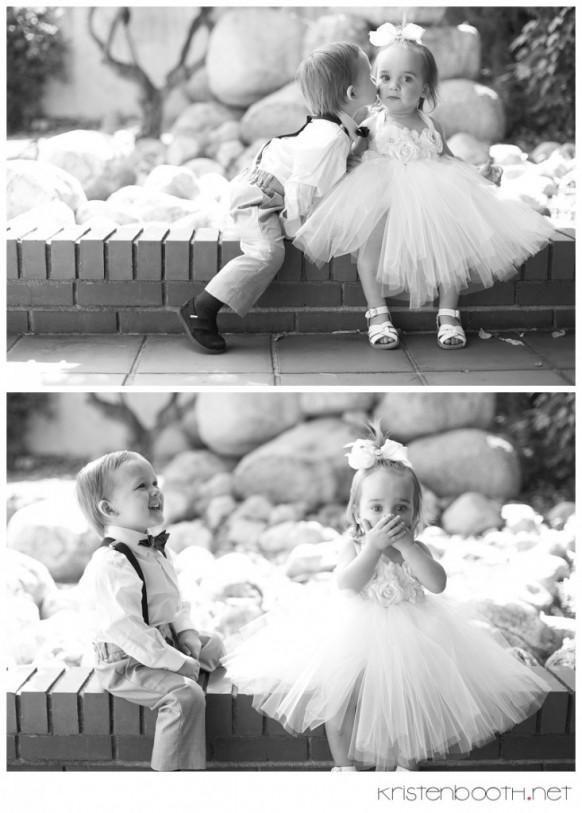www.weddbook.com everything about wedding ♥ Best flower girl & ring bearer moment ever :) #weddbook #wedding #cute