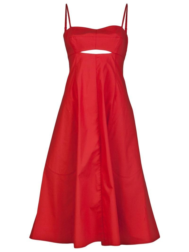 Red cutout dress by crosby by derek lam my style