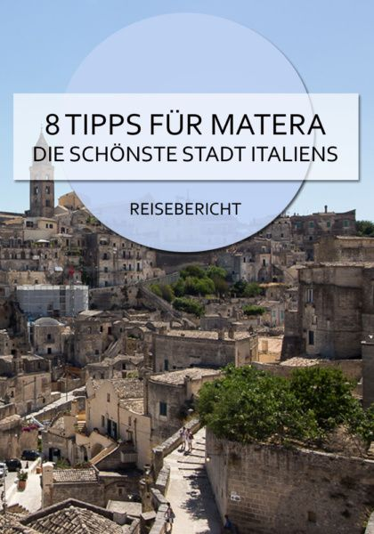 Photo of 8 tips for Matera – the most beautiful city in Italy