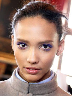 25456afc6ac Makeup Ideas: Electric Blue Mascara | Pat McGrath makeup | Purple ...