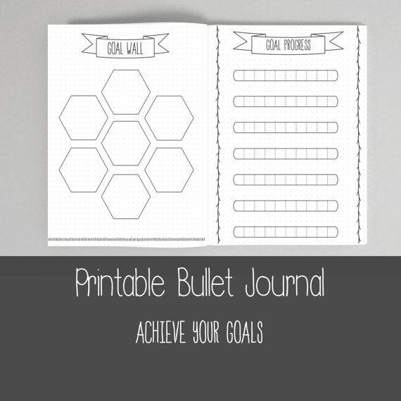 Bullet Journal Bundle Template Collection - Printable BUJO | Bullet ...