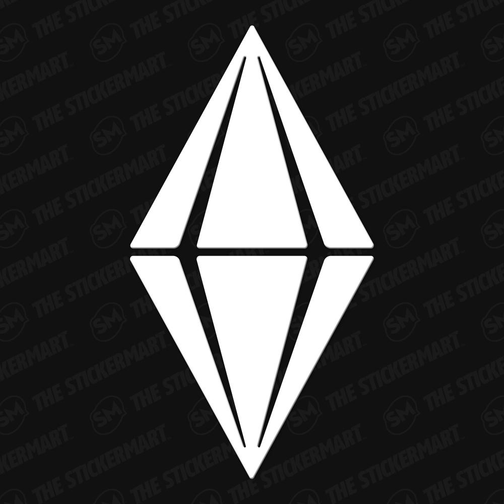 Photo of El juego Sims Diamond Logo Vinyl Decal