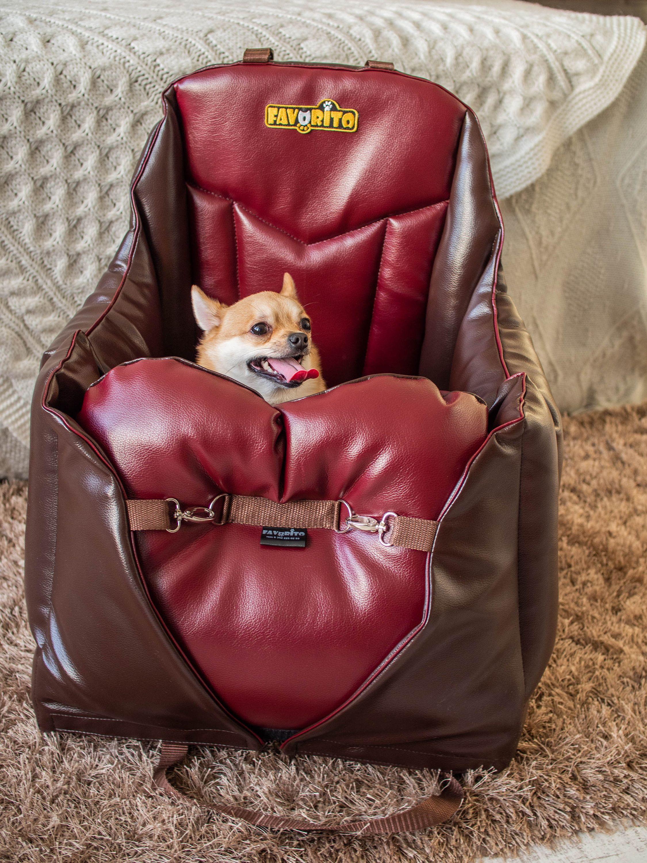 Car seat for dog dog car booster seat safety dog car