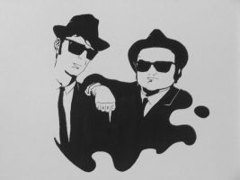 Blues Brothers by joaolucas88