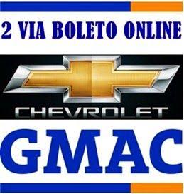 Banco Gmac 2 Via Boleto Como Tirar Fatura Online Boleto
