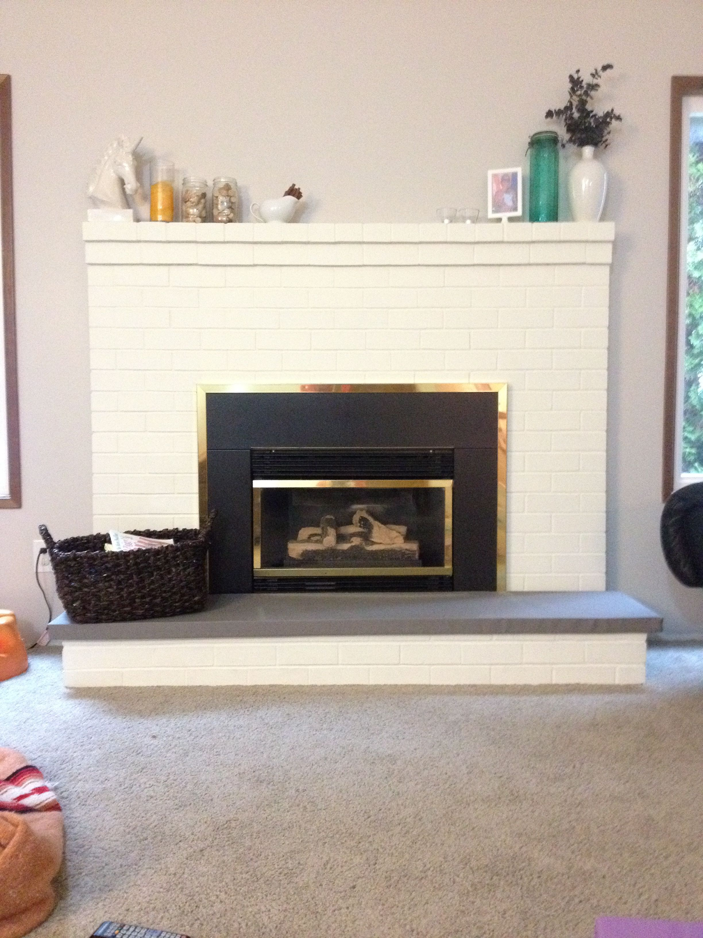 Fantastic DIY explanation for fireplace hearth covers. | mercer ...