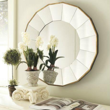 Mirror Over Fireplace From Ballard Designs