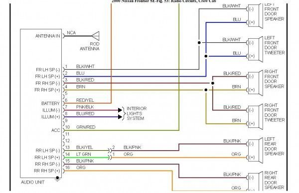2000 Nissan Xterra Wiring Diagrams