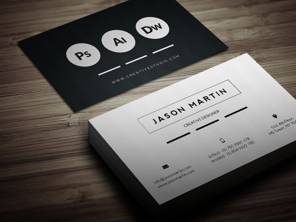 Super flat corporate business card by jason martin at bouncy studio super flat corporate business card by jason martin at bouncy studio via behance very nice crisp black and white business card design colourmoves