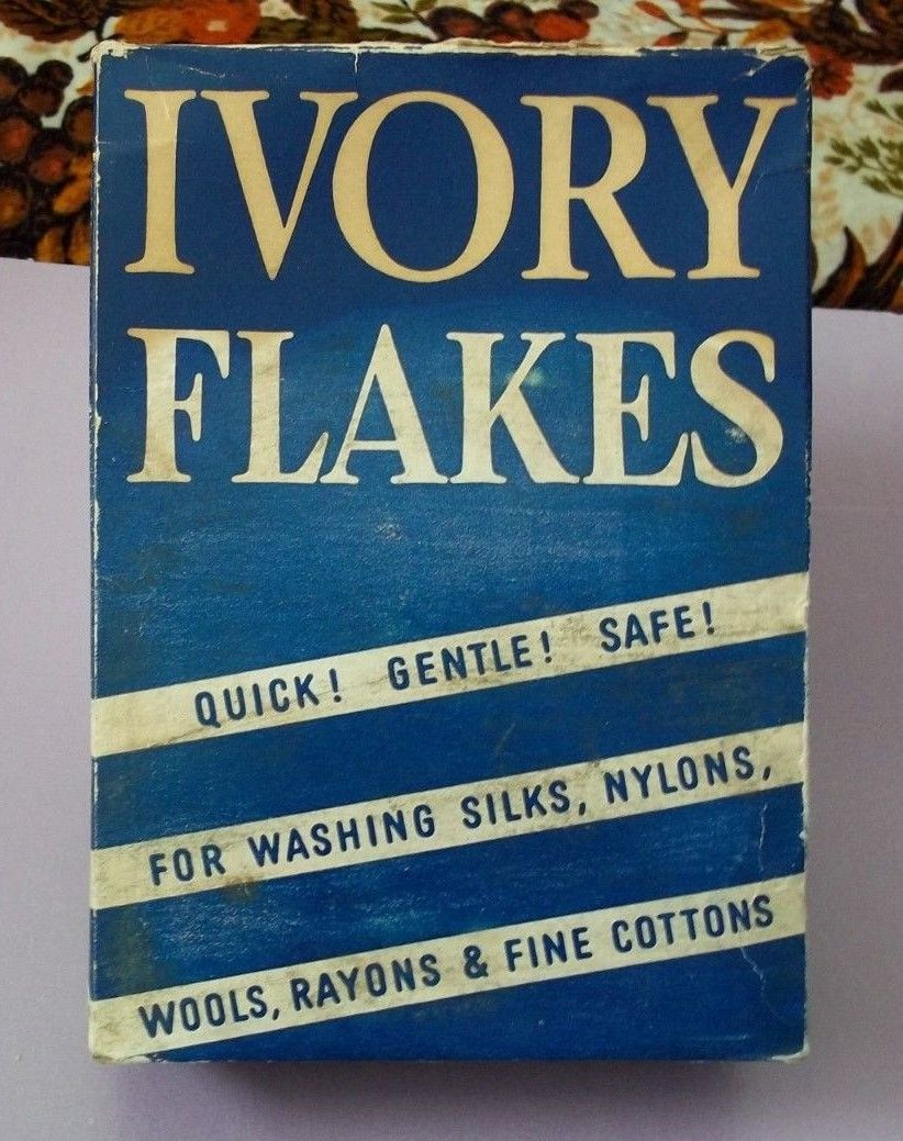 Vintage Ivory Soap Flakes Summer Of 42 Everything Must