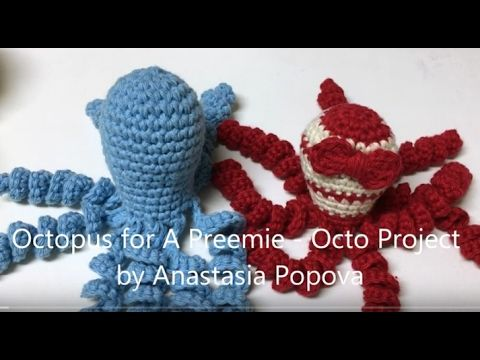 Octopus for Preemie Free Crochet Pattern – Octo Project - Crochet ...