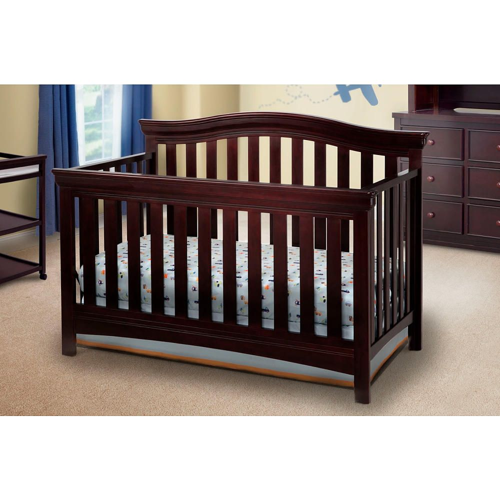 Crib for twins babies r us - Baby Bed At Babies R Us Delta Children Bennington Bell 4 In 1 Convertible Crib