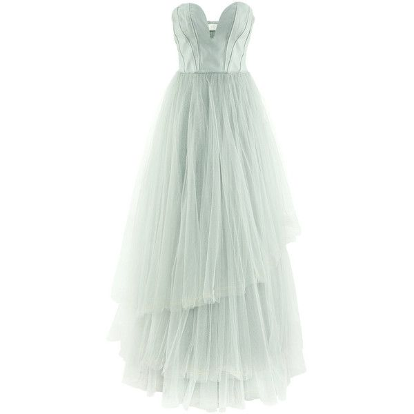 H&M Tulle dress (5 020 UAH) ❤ liked on Polyvore featuring dresses ...