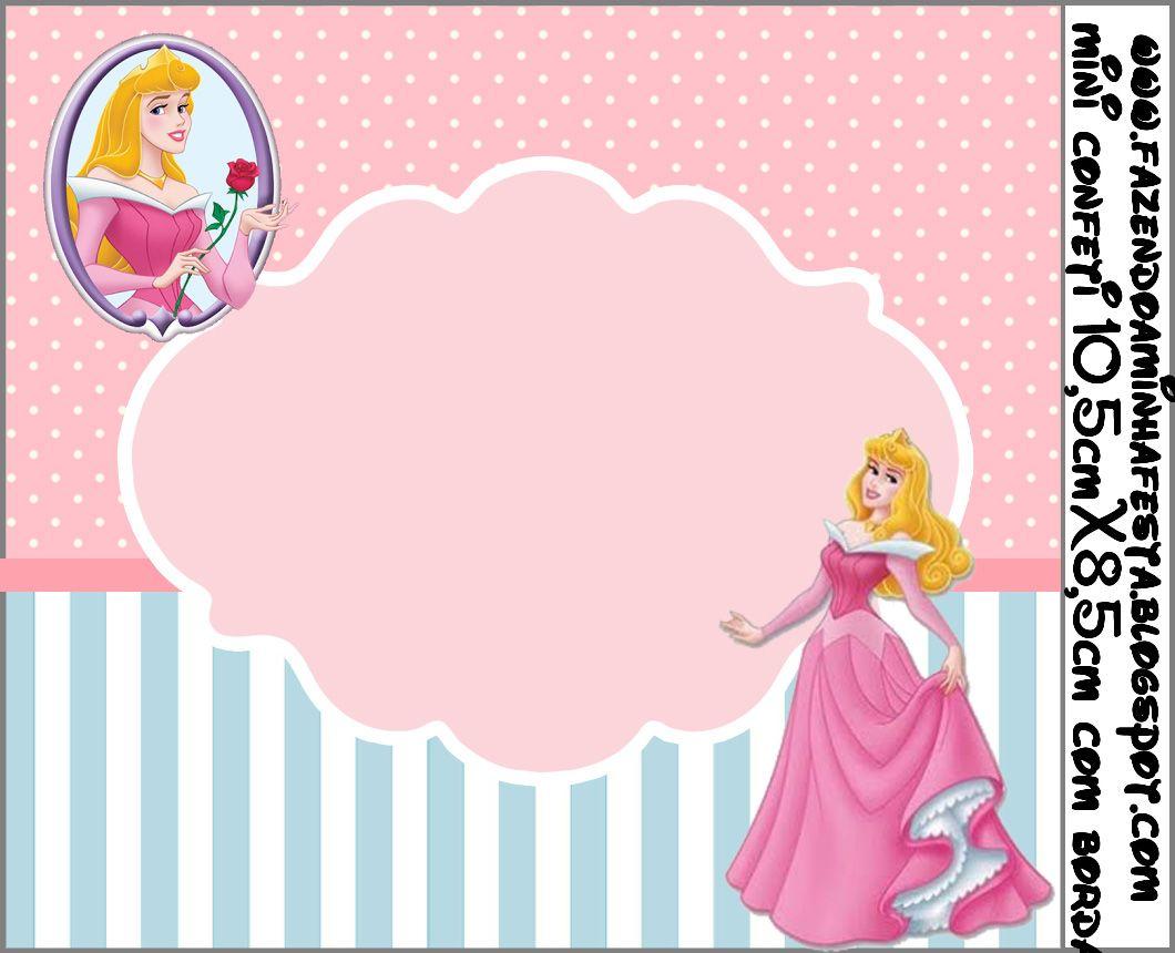 Aurora (Bela Adormecida) - Kit Completo com molduras para ...