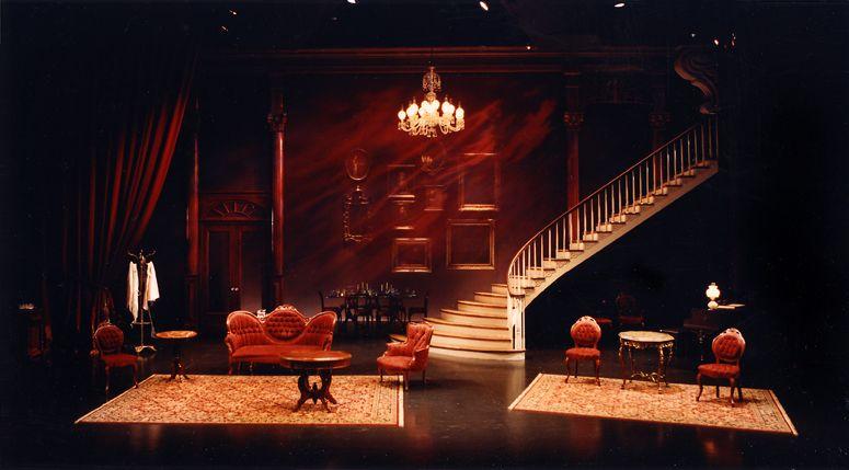 The Little Foxes. Denver Center Theatre Company. Vicki Smith Set Design.