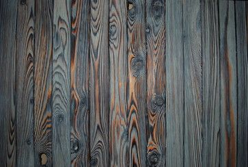 Shou-sugi-ban (burnt wood siding)
