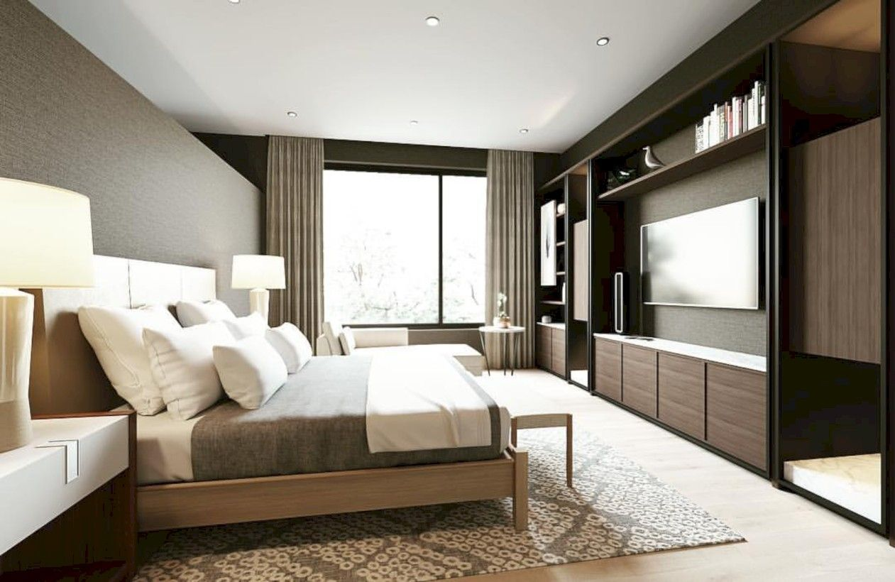 Minimalist master bedroom design trends ideas 40 | Master ...