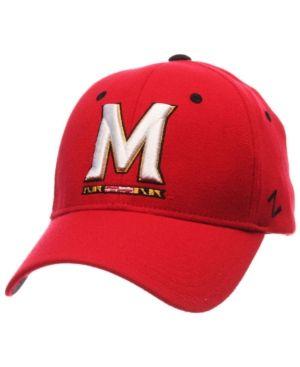 Zephyr Maryland Terrapins Zh Flex Cap - Red S/M