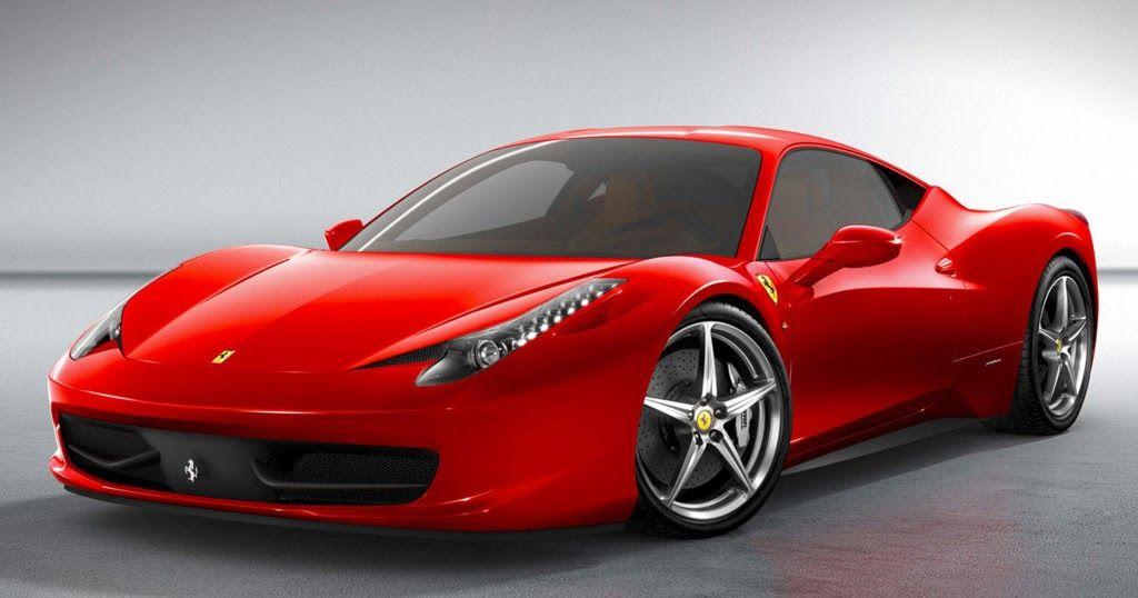 Ferrari 458 Red Sport Car HD Wallpaper