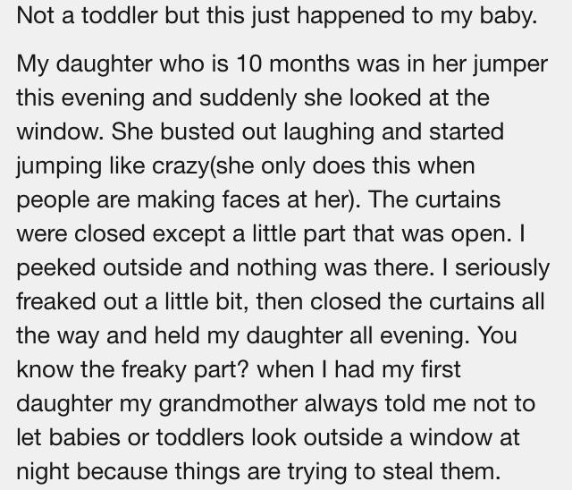 Weird Reddit Story