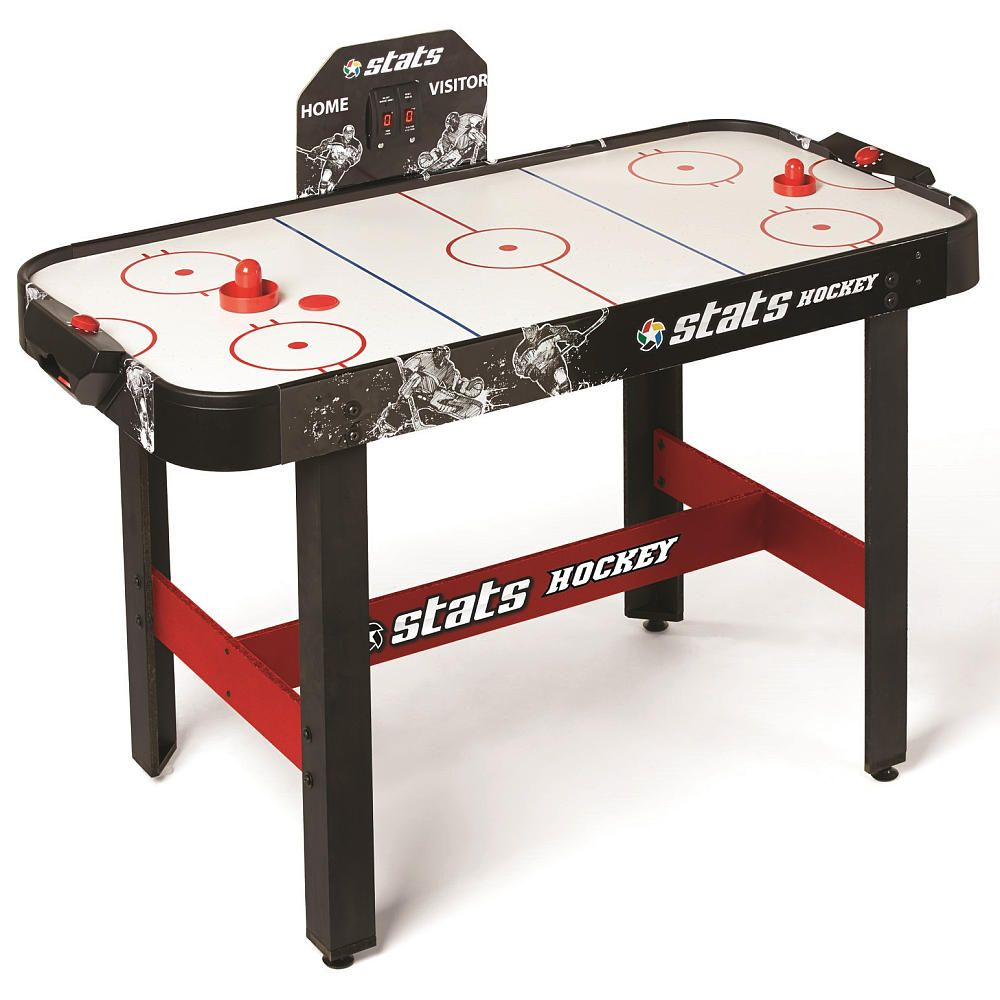 Stats 48 Inch Air Hockey Table With E Scorer Air Hockey Table Air Hockey Table