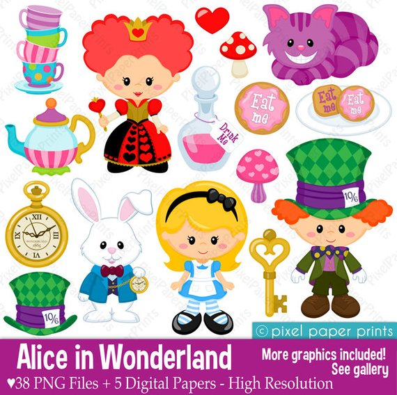 34++ Alice in wonderland clipart png ideas