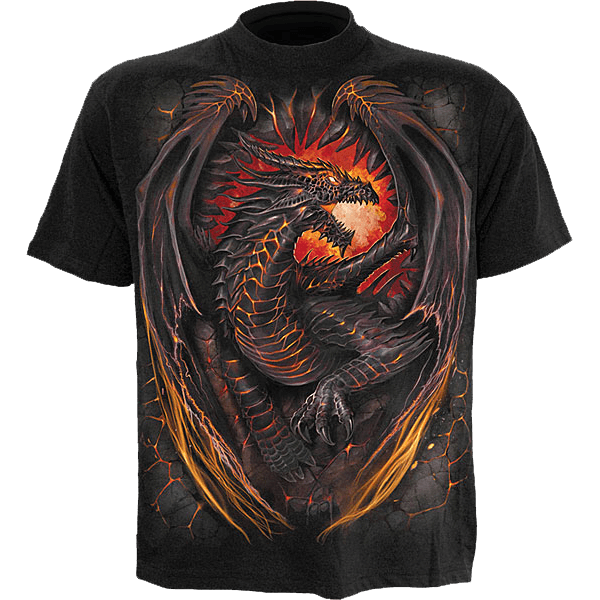 Photo of Dragon Furnace T-Shirt – SL-00196 – Medieval Collectibles