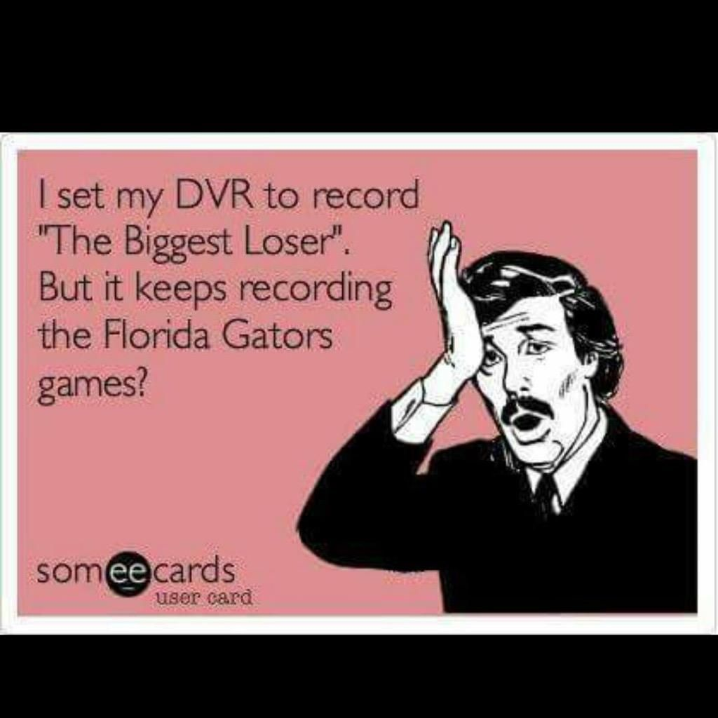 This just made me LOL. #cheesy but #hilarious #gators