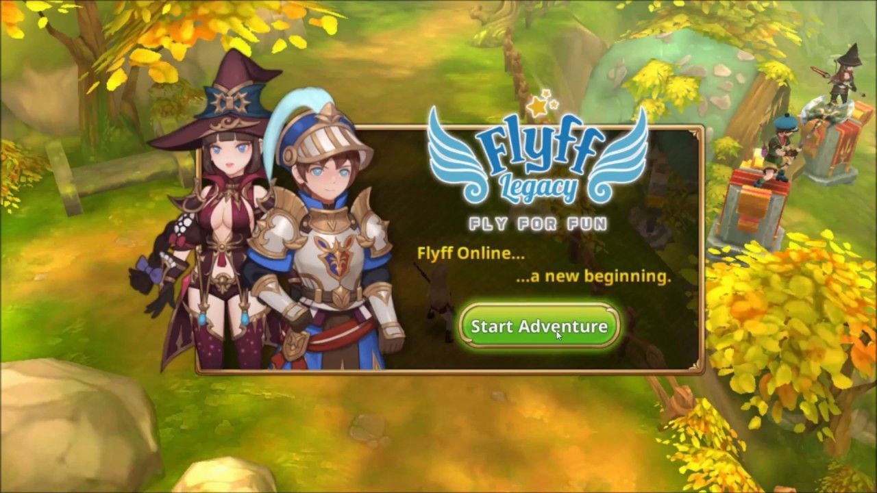 Flyff Legacy Global New Anime MMORPG android game first