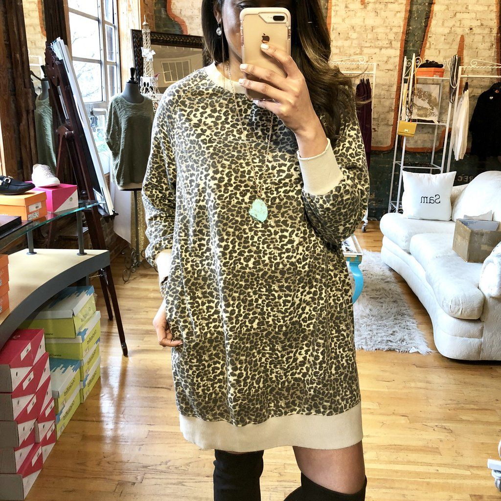 Halle Animal Print Dress