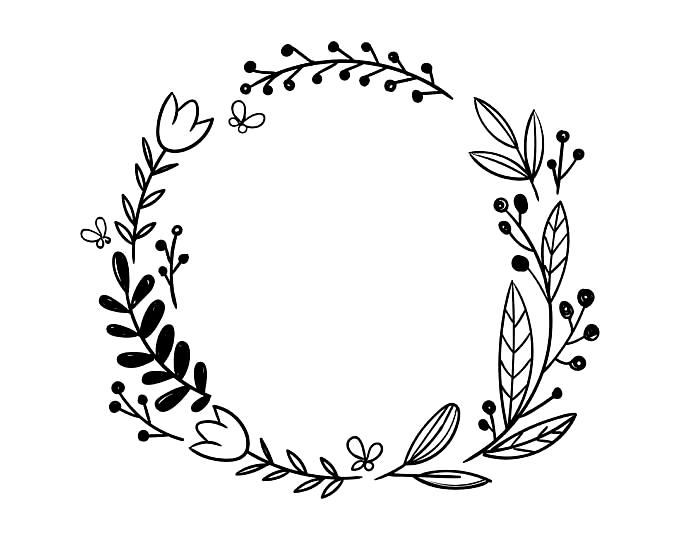 Pin De Luciana De Stefano En Flowers Circulo De Flores Marco De Boda Ideas De Bordado