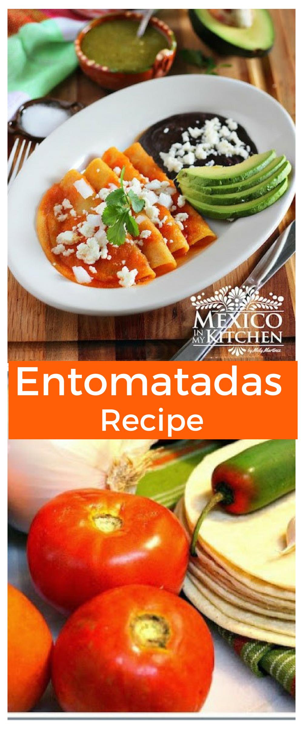 Entomatadas Recipe Entomatadas recipe, Mexican food
