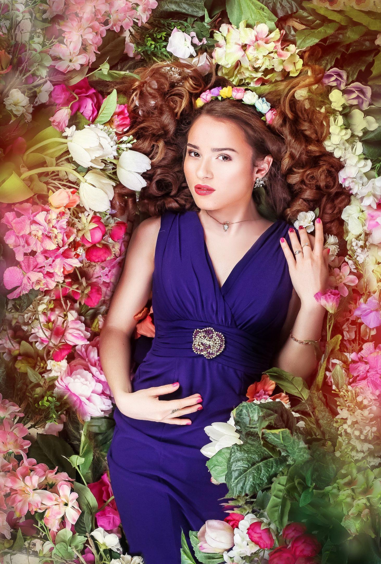 кухонные идеи фотосессии в цветочном платье личностного