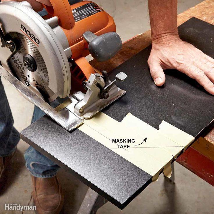 How to Use a Circular Saw Circular saw, Circular saw jig