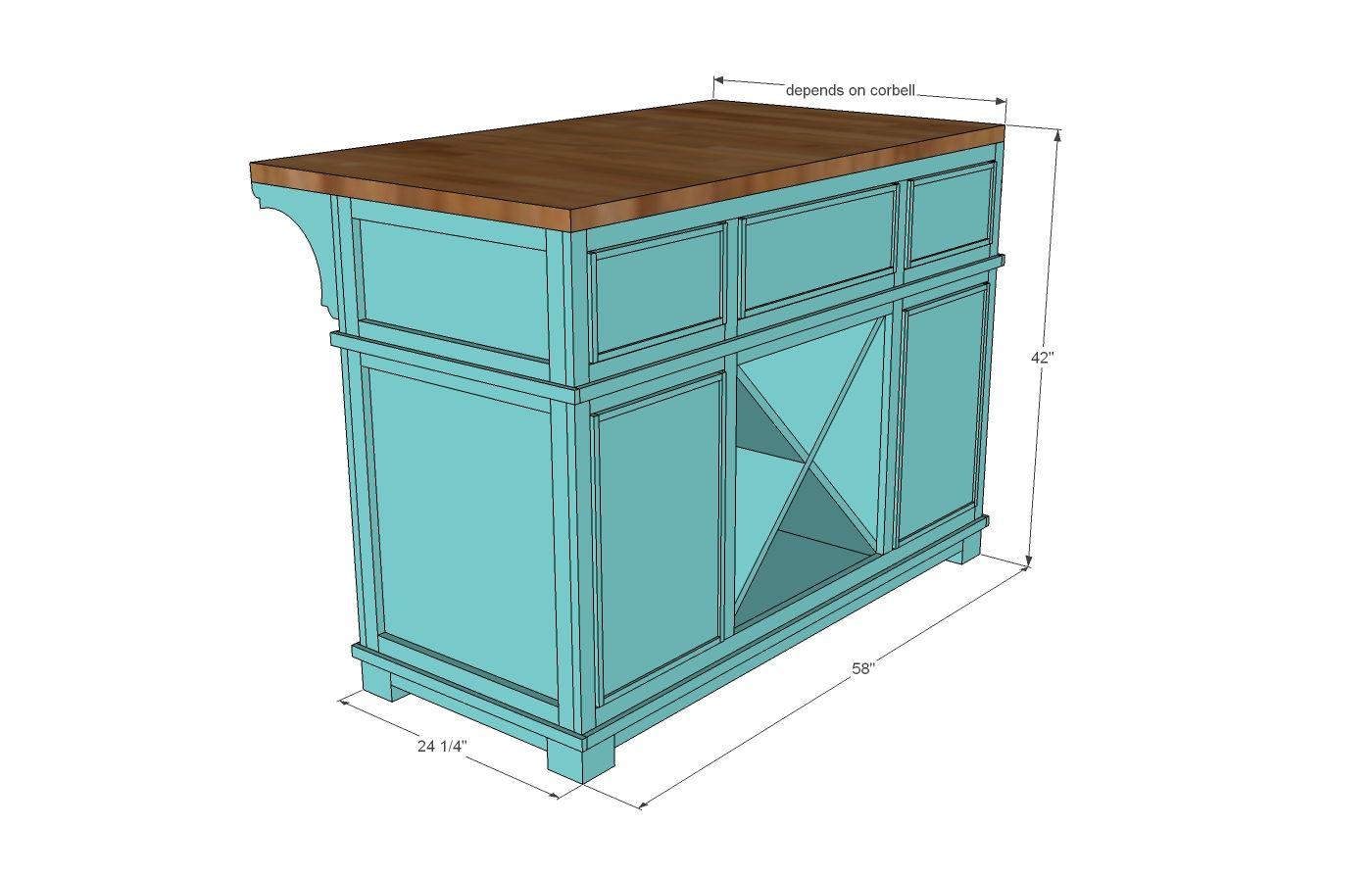 Build A Shepard Kitchen Island