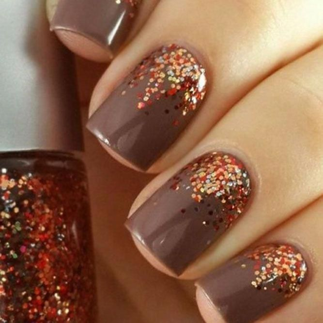 Photo of Season Nails Kunstidéer som du vil prøve akkurat nå #thankgivingnails Th …