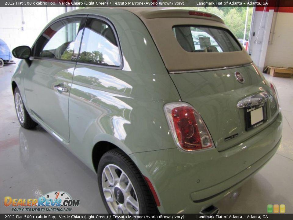 Fiat 500 Verde Chiaro Fiat 500 Verde Pop