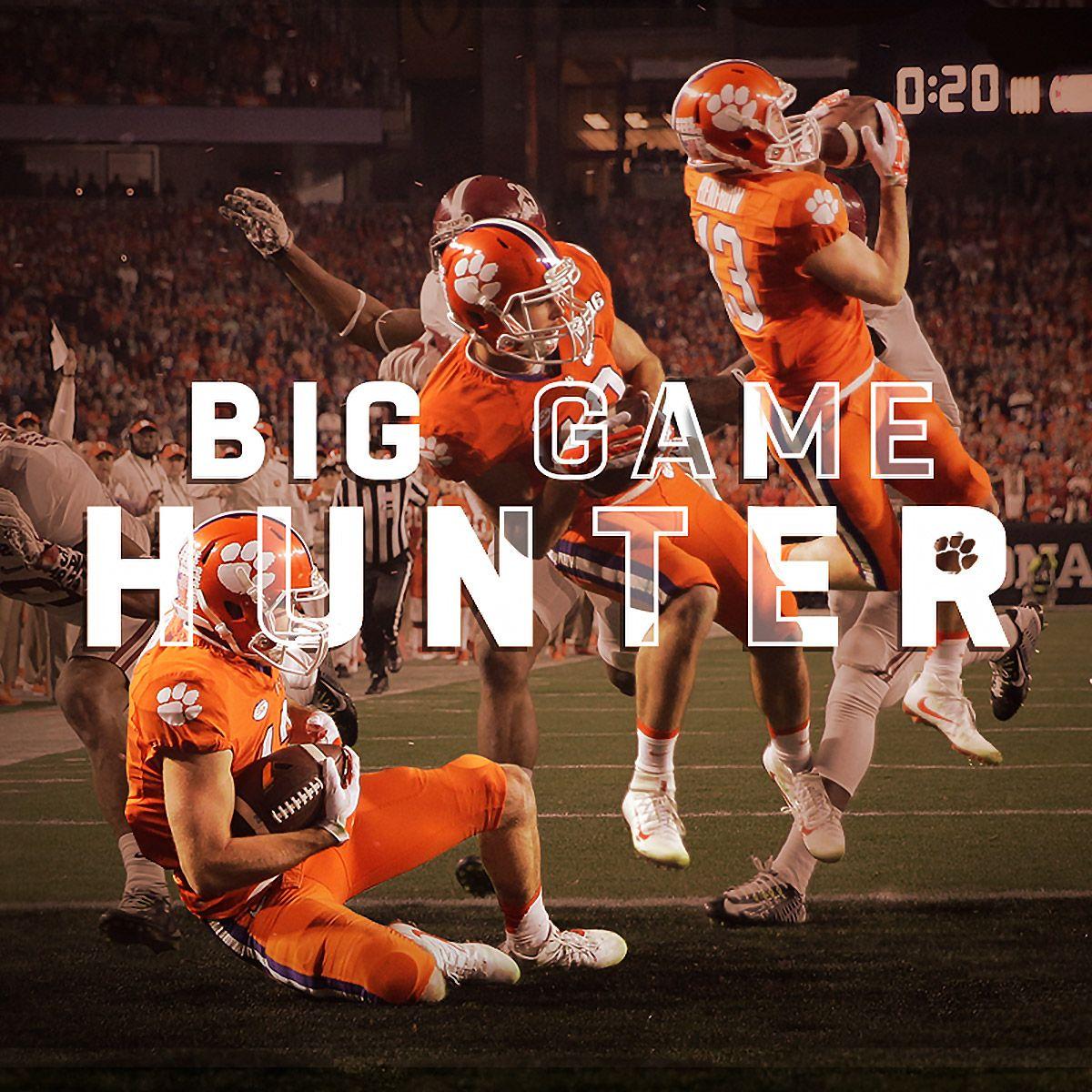 Hunter Renfrow | Clemson tigers football, Clemson fans ...