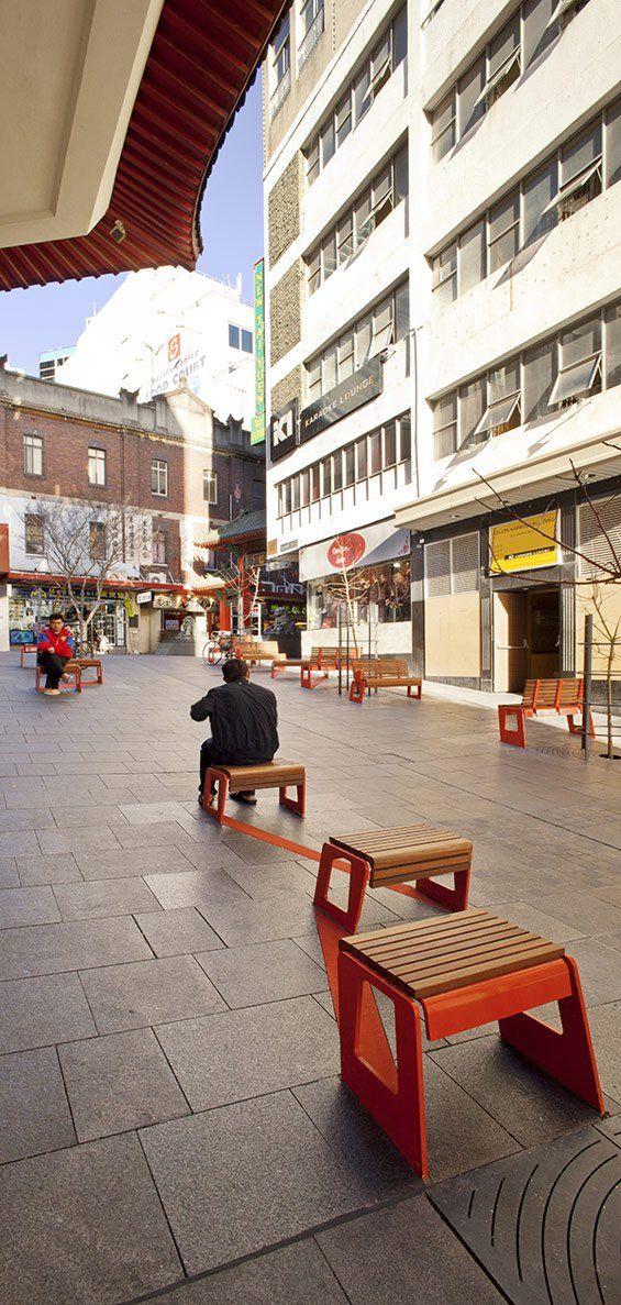 Charmant Chinatown Upgrades | Sydney Australia | ASPECT Studios