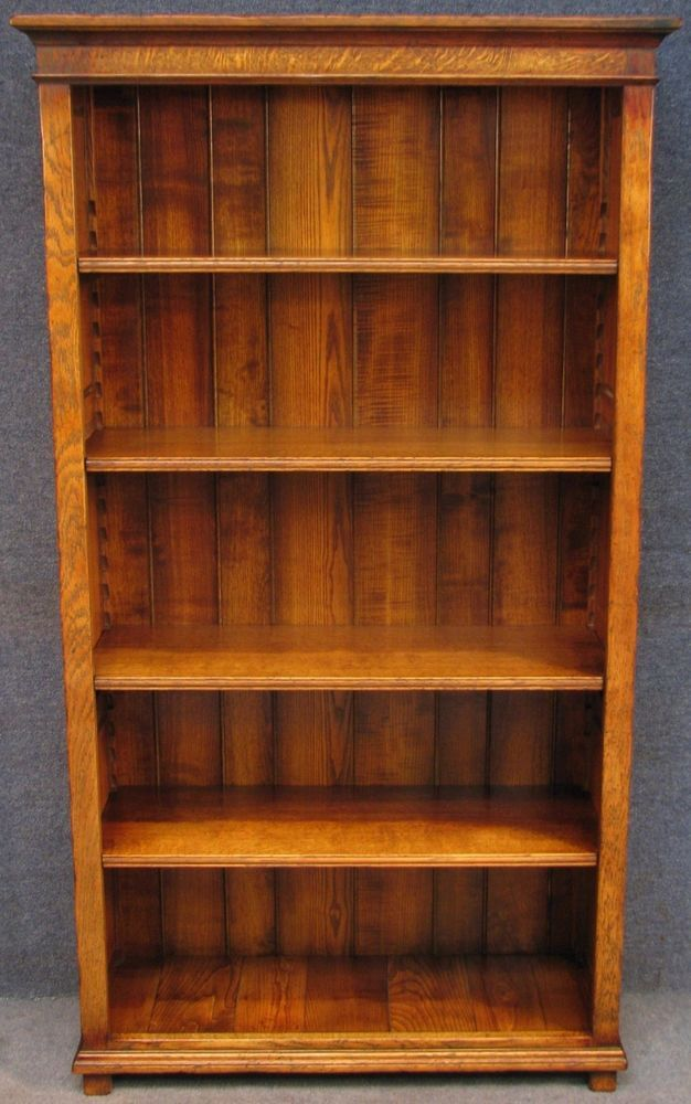 period style tall solid oak bookcase bookshelves airport rh pinterest com