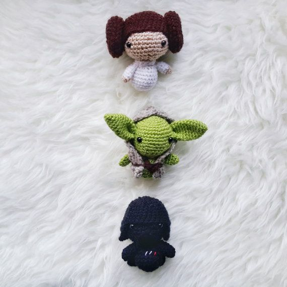 Amigurumi Discount Pattern Package - Amigurumi Star Wars -Crochet ...