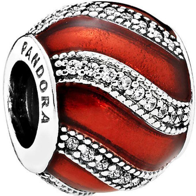 bracelet pandora charms rouge