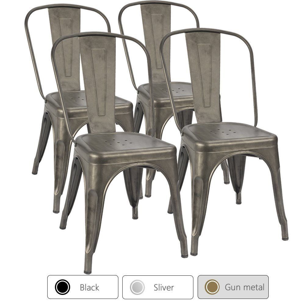 Beautiful metal farm decor chairs rustic chairs western