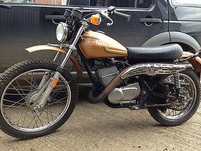 eBay: 1975 Harley Davidson SX250 twinshock 2 stroke trail enduro USA