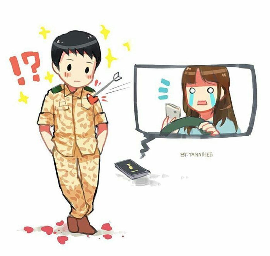 Descendants Of The Sun More FanArts Stupigity Little Troll